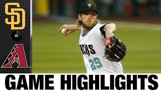 Kole Calhoun, Merrill Kelly lead 5-1 win | Padres-D-backs Game Highlights 8/14/20