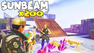 Raging Scammer Scams 200 Sunbeam 😱 (Scammer Gets Scammed) Fortnite Save The World