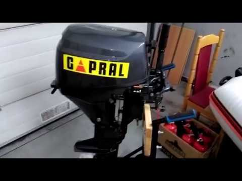 Silnik CAPRAL 9.8 hp chińska kopia TOHATSU