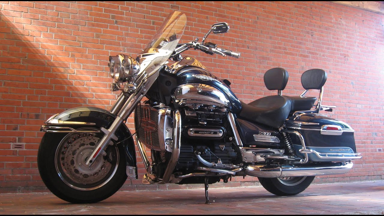 triumph rocket 3 touring rocket iii touring motorrad youtube. Black Bedroom Furniture Sets. Home Design Ideas