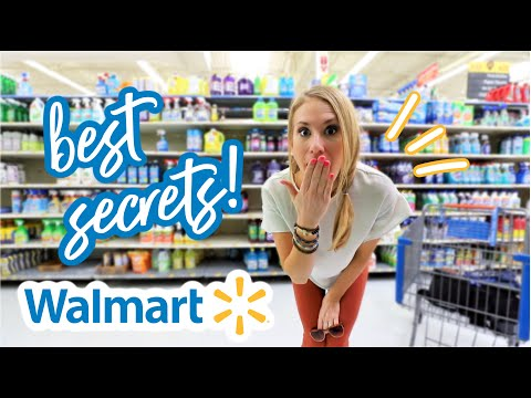 My Literal Favorite CLEANING PRODUCTS! (not Sponsored + From Wally World!)