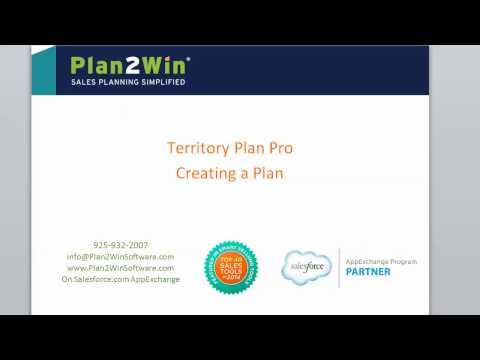 Territory Plan Pro: Creating a Territory Plan