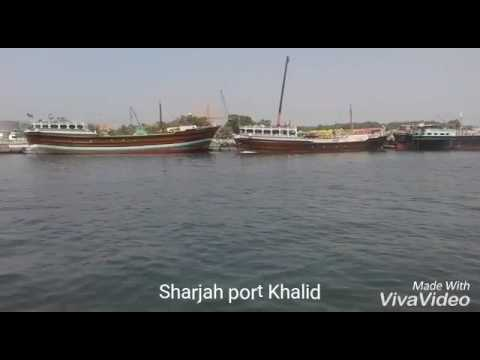 Sharjah port Khalid | Dubai | fresh morning