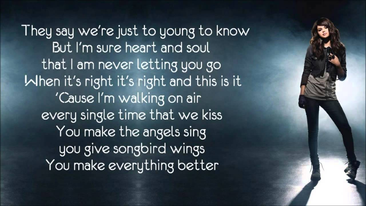 Download Selena Gomez  I Promise You HD) (With lyrics on screen)