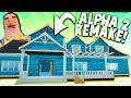 REVISITING ALPHA 2 IN HELLO NEIGHBOR! (Alpha 2 Mod) | Hello Neighbor Beta 3 Mods Gameplay