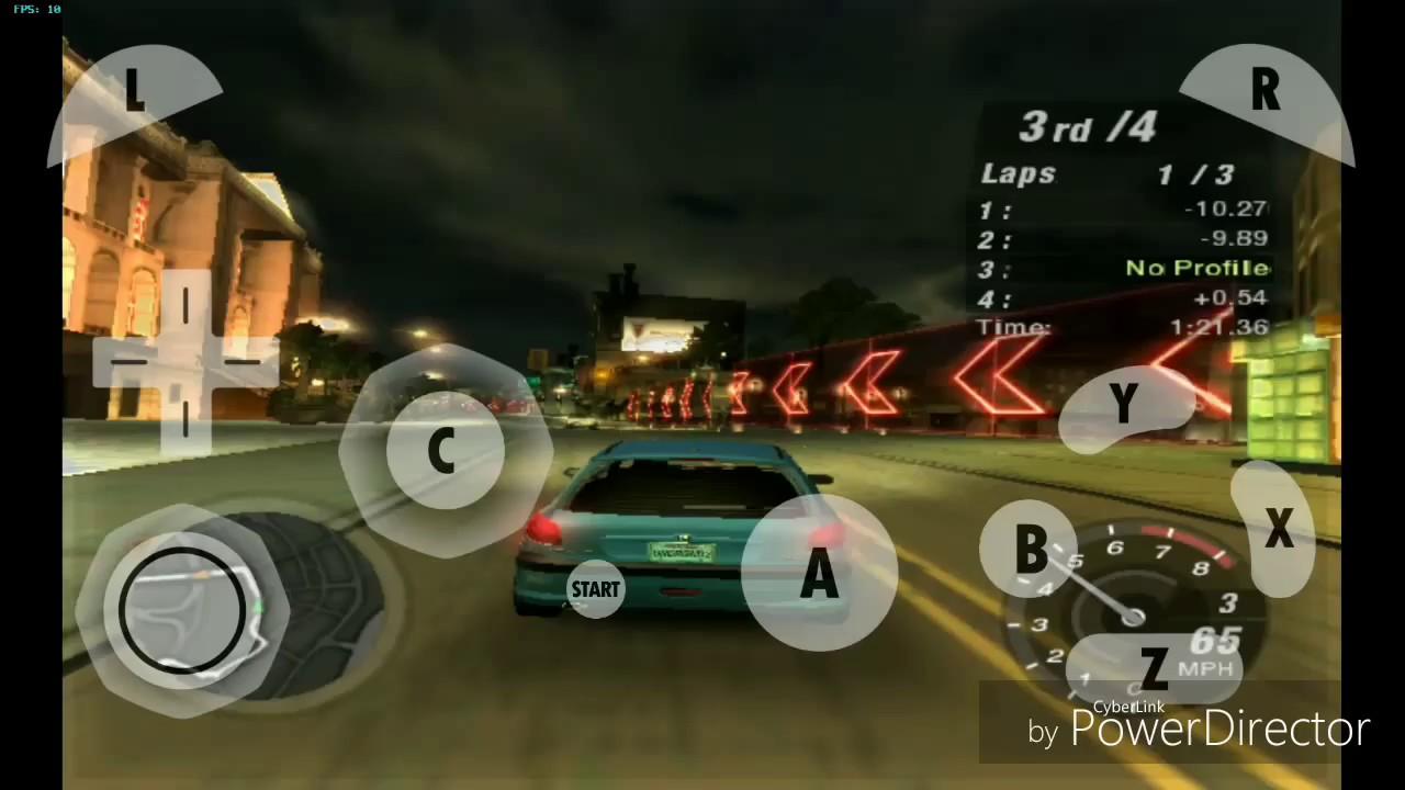 nfs underground 2 ps2 emulator android