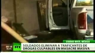 Matan a 27 presuntos delincuentes en México