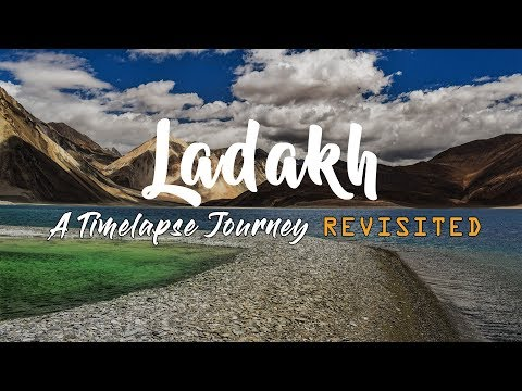 Ladakh - A Timelapse Journey Revisited | With Mix Dubstep & Chill Music
