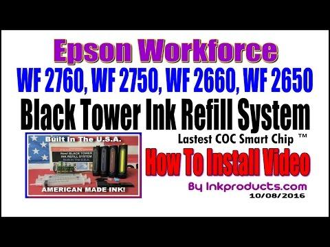CIS For Epson Workforce WF 2760, WF 2750, WF 2660, WF 2650