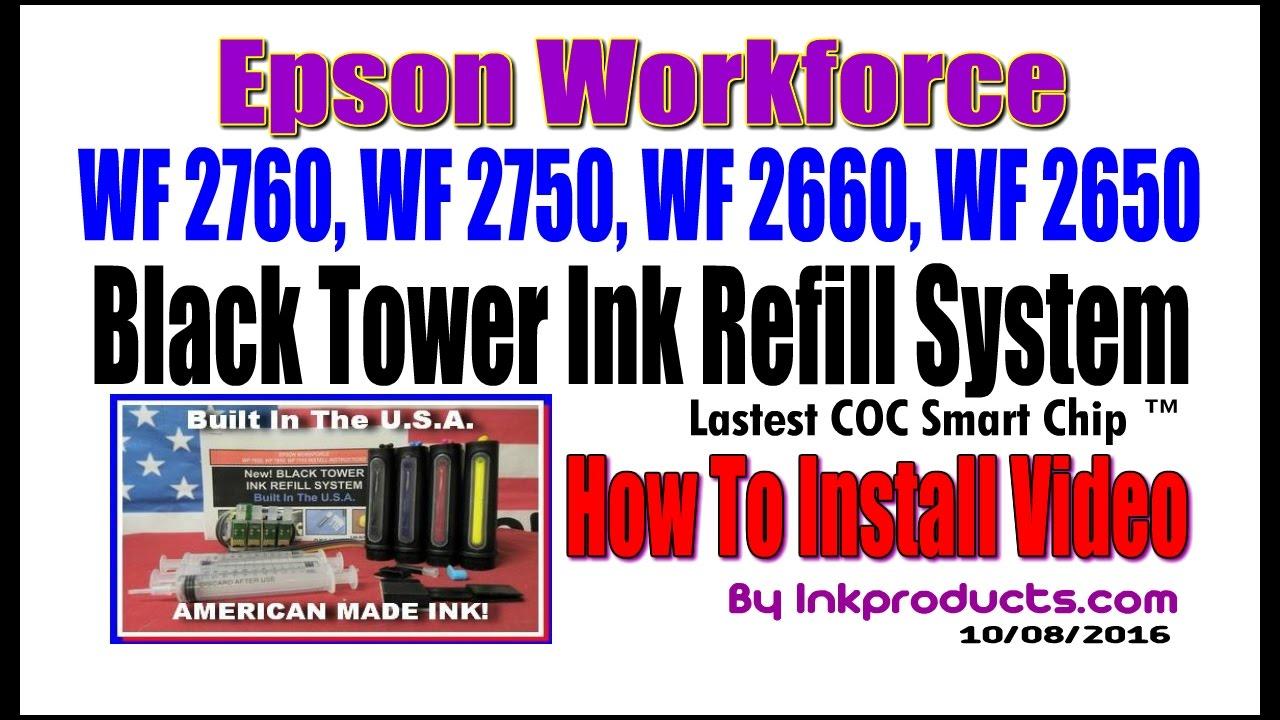 Cis For Epson Workforce Wf 2760 Wf 2750 Wf 2660 Wf 2650