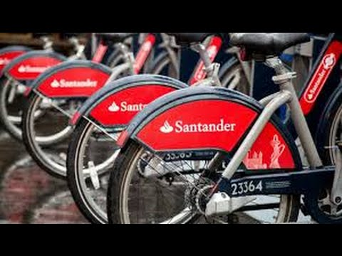 HOW TO HIRE/RENT A SANTANDER BIKE CYCLE IN LONDON - £2 HIRE 24HR