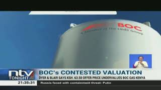 Dyer & Blair says Sh63.50 offer price undervalues BOC Gas Kenya