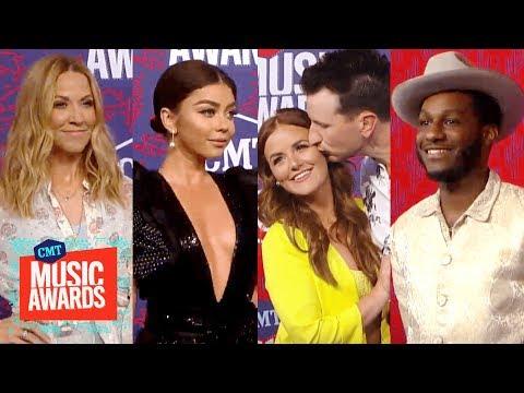 2019 CMT Music Awards Fashion Cam! Ft. Sheryl Crow, Sarah Hyland & More
