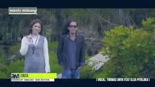 Thomas Arya Feat Elsa Pitaloka - Cinta  Slow Rock Lirik Lagu