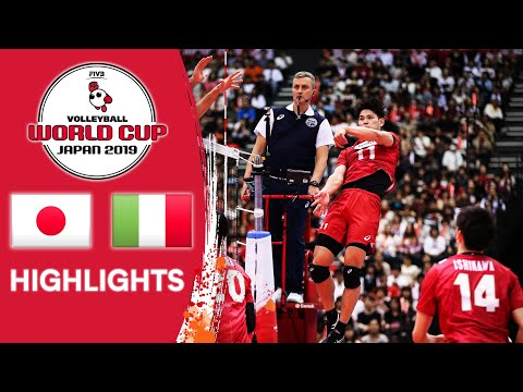 JAPAN Vs. ITALY - Highlights | Men's Volleyball World Cup 2019