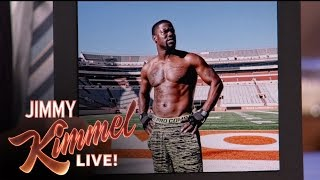 Kevin Hart Couldn't Handle Working Out With The UT Football Team