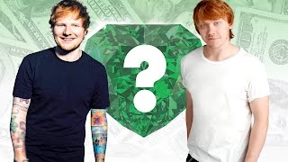WHO'S RICHER? - Ed Sheeran or Rupert Grint? - Net Worth Revealed!