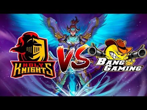 Holy Knights vs bang gaming /Scrim E-sport/Santiago 1999/