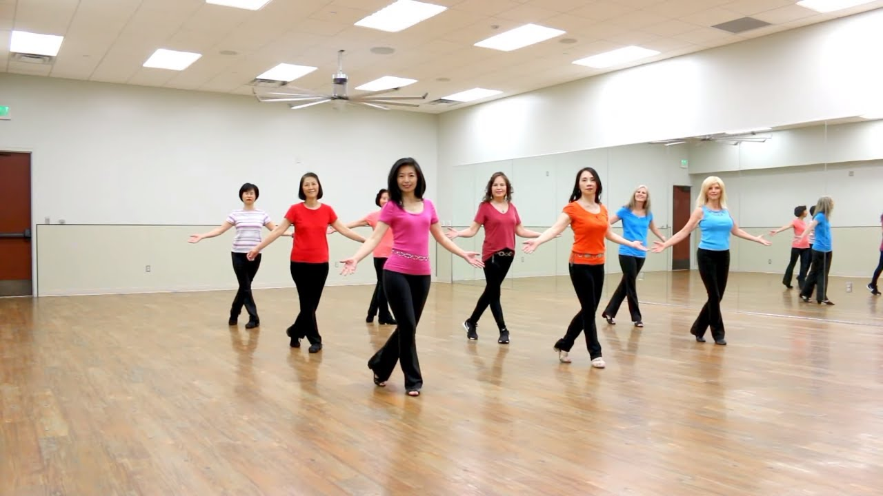 Hustle Me Line Dance Dance Teach In English 中文 Youtube