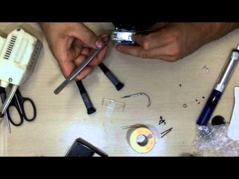 Nikon Speedlight SB-600 flash tube replacement tutorial