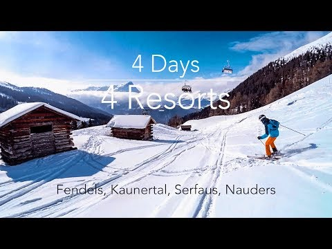 4 Days, 4 Resorts | Serfaus, Kaunertal, Nauders, Fendels | GoPro HD 2017 Ski Edit