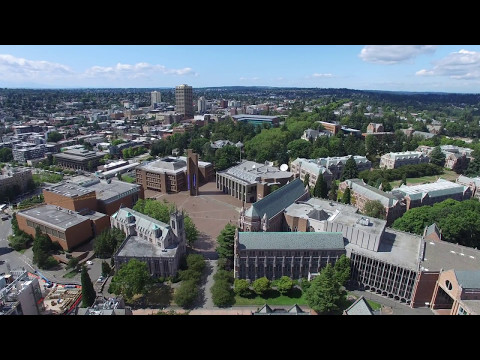 University of Washington tour in 4K (July 2016)