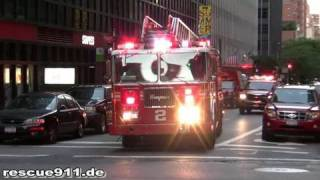 Battalion 9 + Engine 8 + Ladder 2 + Battalion 8 FDNY