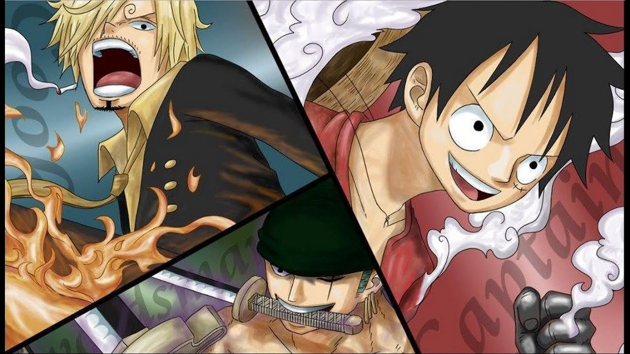 ONE PIECE GREATNESS: LUFFY, ZORO AND SANJI ADMIRAL LEVEL ...  One