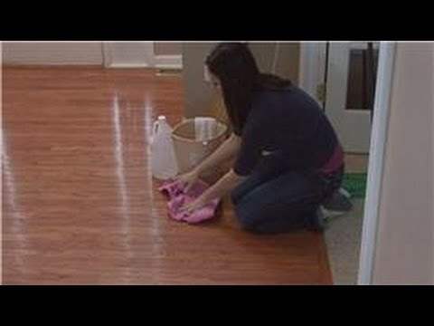 Housekeeping Tips How To Clean Pet Urine Out Of Wood Floors Youtube