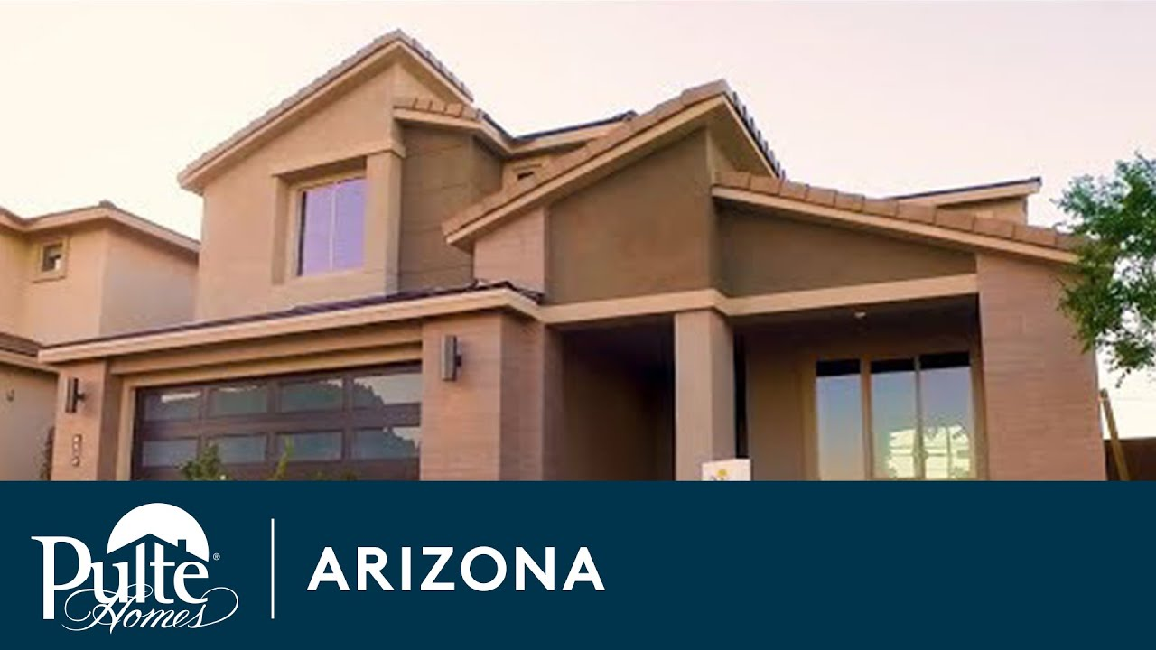New Homes in Phoenix - Sky Crossing by Pulte Homes - YouTube