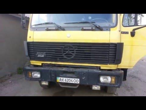 Видеообзор грузовика Mercedes 1722 очень любительский
