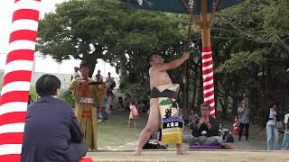 弓取り式 長崎市・高浜相撲協会 八幡神社大祭「高浜くんち」20180923153433 thumbnail