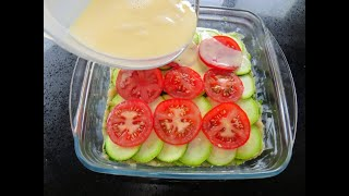 Вот так я готовлю запеканку из кабачков Супер вкусный рецепт с кабачками фаршем и сыром