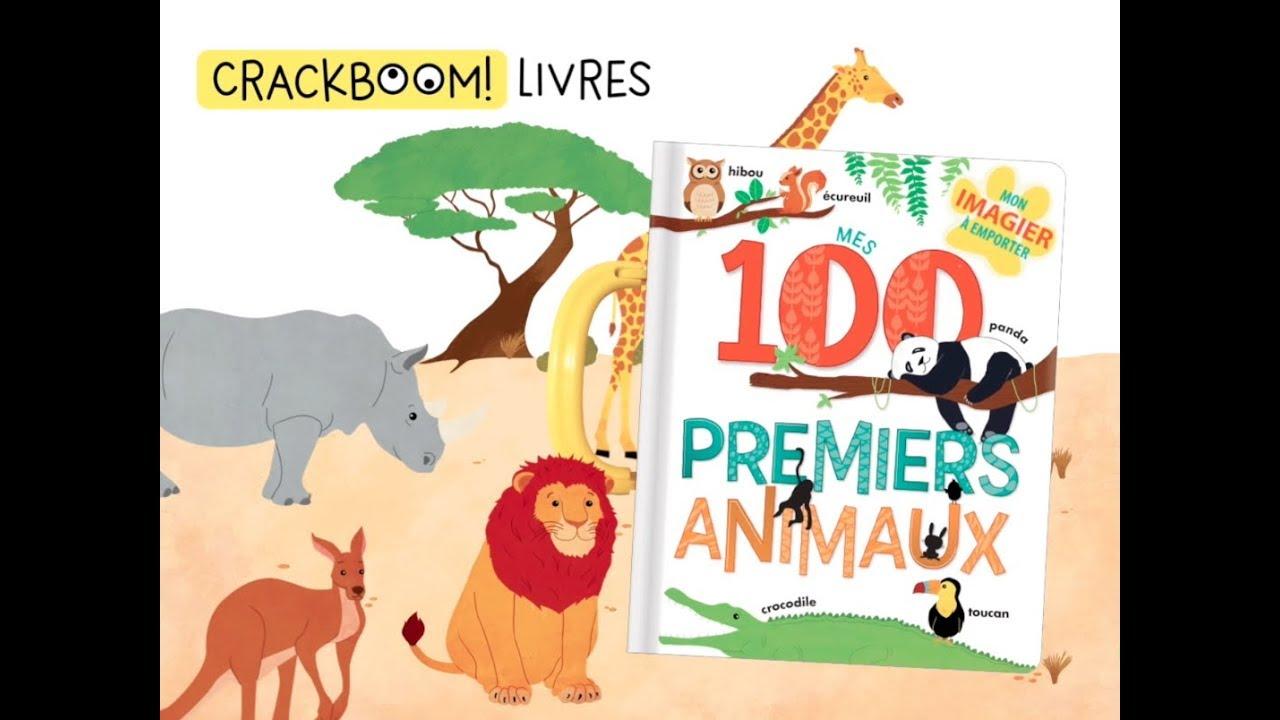 Mes 100 Premiers Animaux Livre Poignee