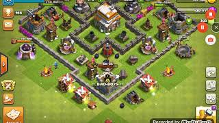 CLASH OF CLANS BUG #3 | | BUG IN CLANS OF CLANS