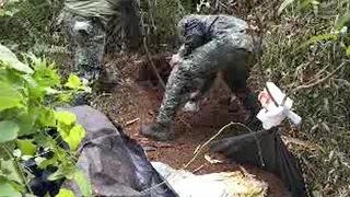 Soldiers find remains of beheaded German hostage