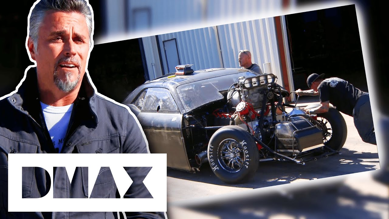 Gas Monkeys CRASH Whilst Testing Their Car For A Race Against The Street Outlaws   Fast N' Loud
