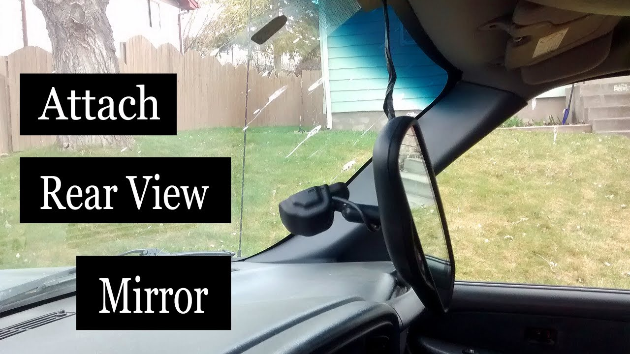 Audi rear view mirror fell off