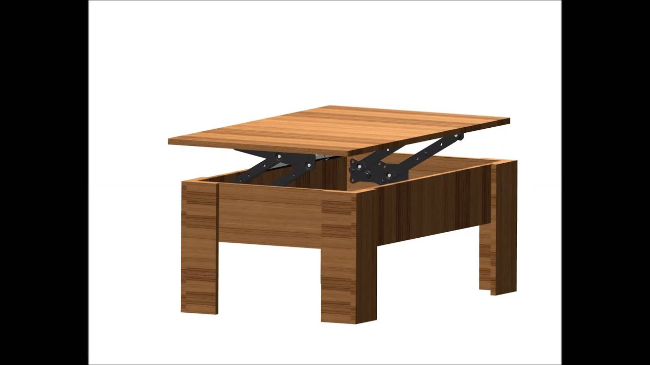 Transformable coffee table mechanism sehpa mekanizmas - Transformable coffee table ...
