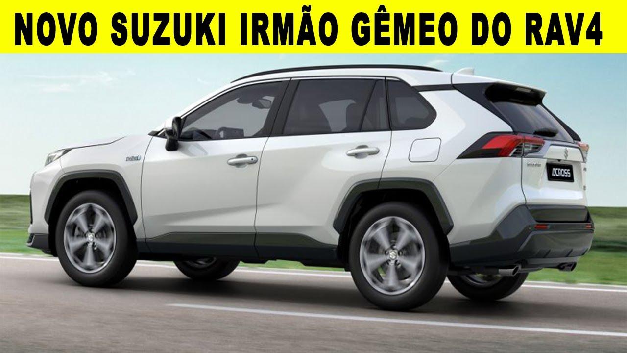 NOVO SUV DA SUZUKI ACROSS - O IRMÃO GÊMEO DO RAV4 FEITO EM PARCERIA COM TOYOTA