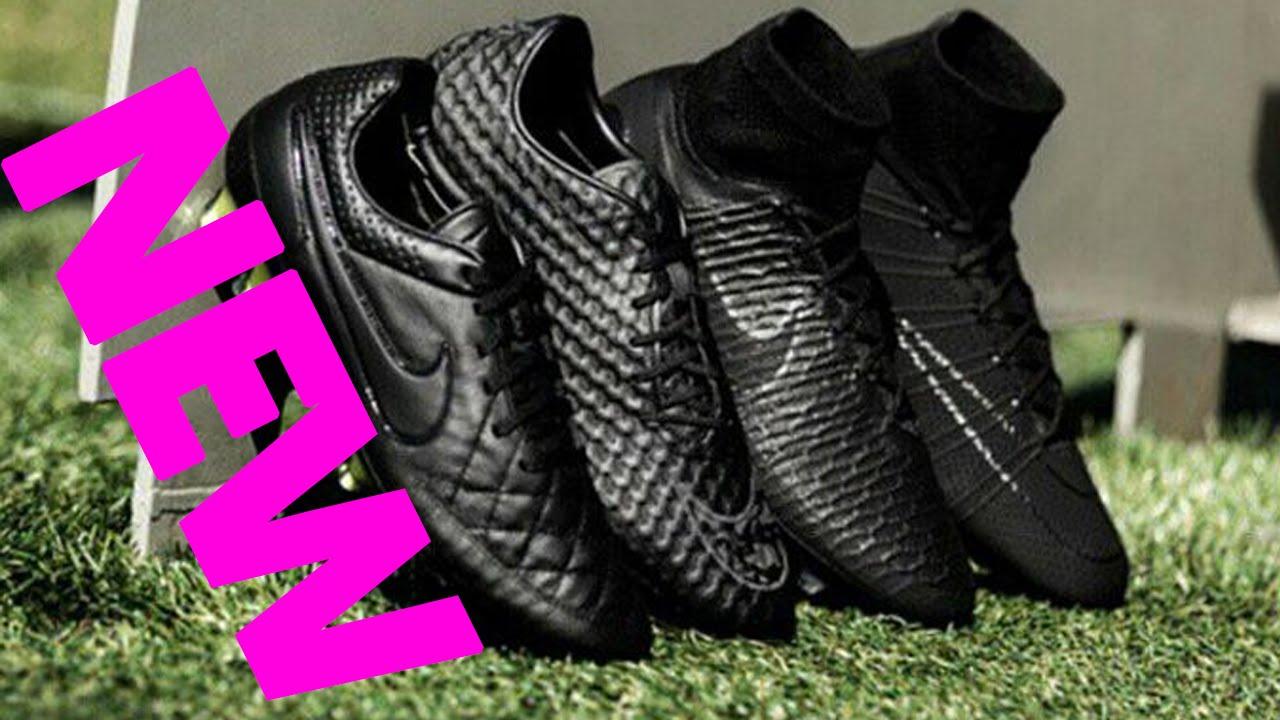 0ebae235bd08 ⚽️Nike 2015 Black Pack Boots - Nike Academy Pack👍 - YouTube