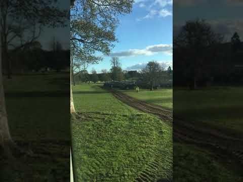 Doddie Weir's tractor run!