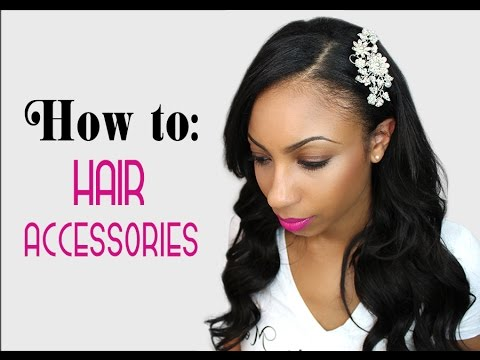 How To Wear Hair Accessories The Best Way To Dress Up Any
