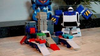 Тоботы и Робот - Трансформер. Игрушки для мальчиков. Видео