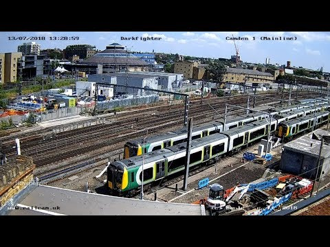 London, England (Camden)  | Cam of the Week - Virtual Railfan LIVE