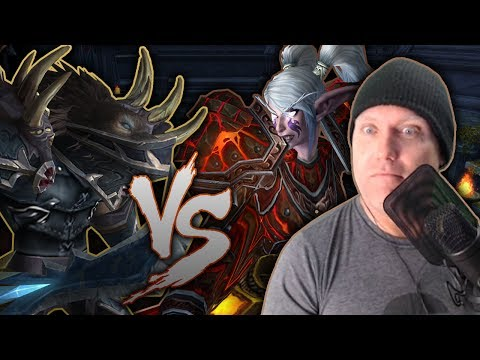 WARRIORS VS ROGUES - Dueling Series in Black Rook Arena w/ Viewers - Legion 7.2.5