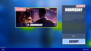 *NEW* DOOMSDAY EVENT in Fortnite!