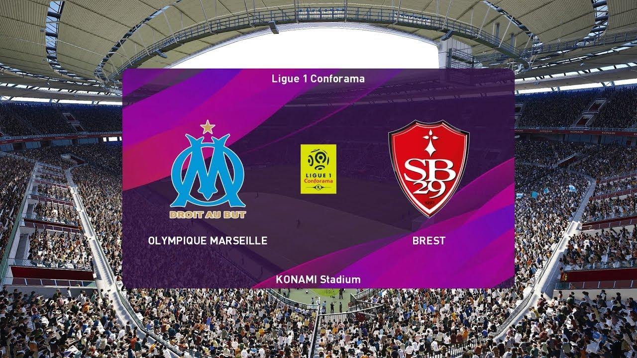 Xem lại Marseille vs Brest, Ligue 1 31/11/2019