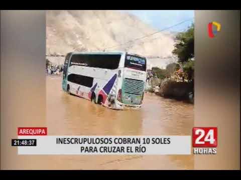 Lluvias torrenciales al interior del país dejan cuatro fallecidos