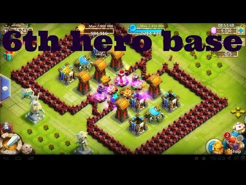 Castle Clash: Episode 20: Getting The 6th Hero Base! Part 1 Of 2